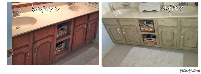 Distressed Cabinetry: Before and After | Cabinet Coatings of America