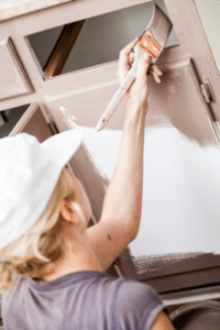 Kitchen Cabinet Painting Process