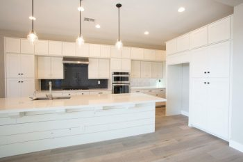 White Kitchen Cabinet Refinishing